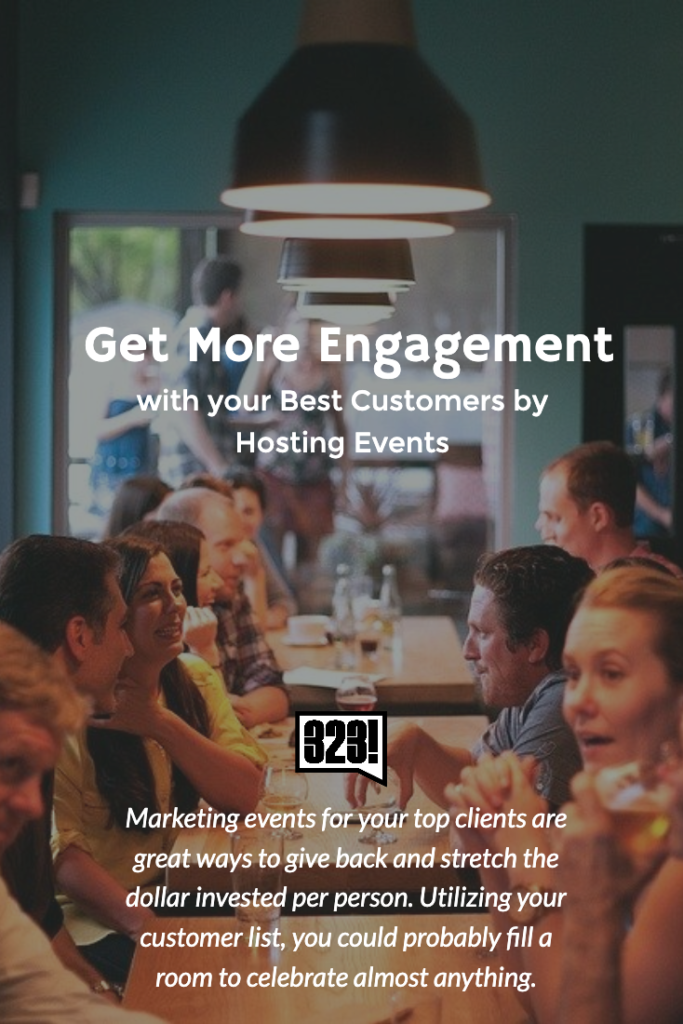 How to leverage events to increase loyalty and gain referrals