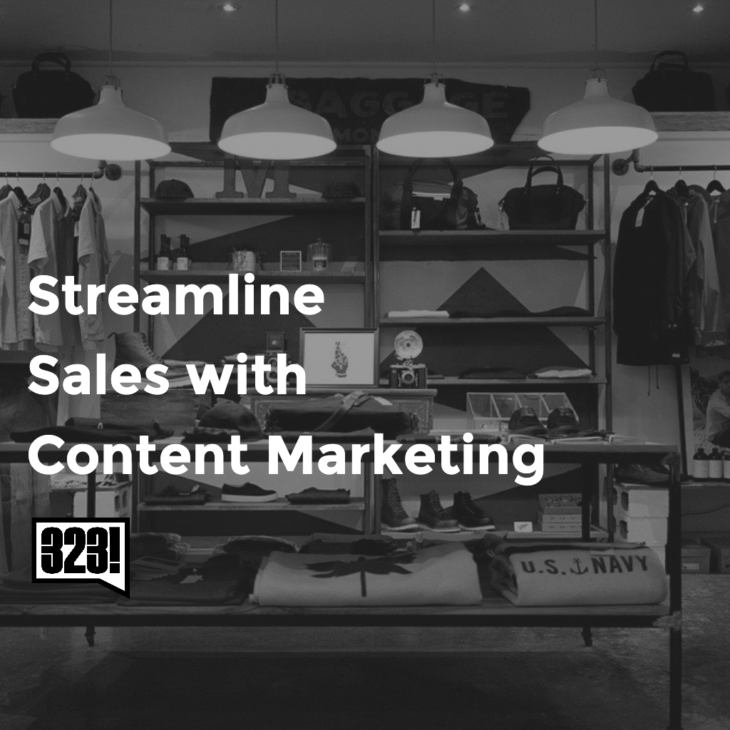 Streamline your business with Content - 323 Media Group - Digital Marketing Vancouver