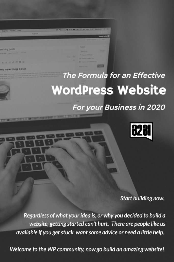 Start building now.  Regardless of what your idea is, or why you decided to build a website, getting started can't hurt.  There are people like us available if you get stuck, want some advice or need a little help. Welcome to the WP community, now go build an amazing website!